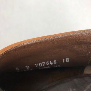 Woman's designer collection Florsheim brown shoes